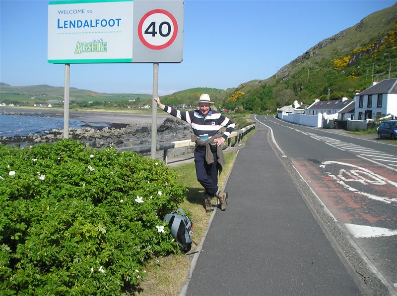 Sponsored Walk  May 2010 - 25/5/10 - The End in Sight - Lendalfoot