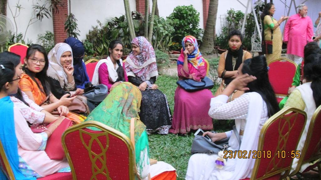 Bangladesh Visit Early 2018 - New applicants selection