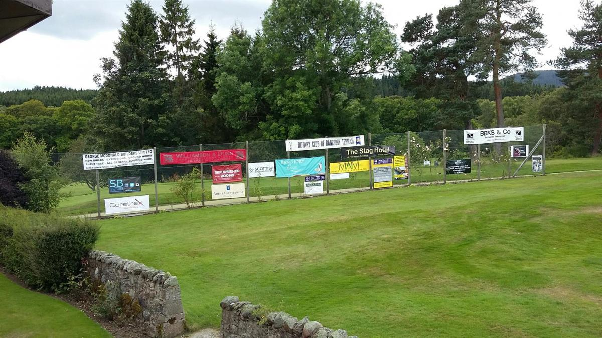 Charity Golf Tournament 13th August 2017 - Sponsors banners (Large)