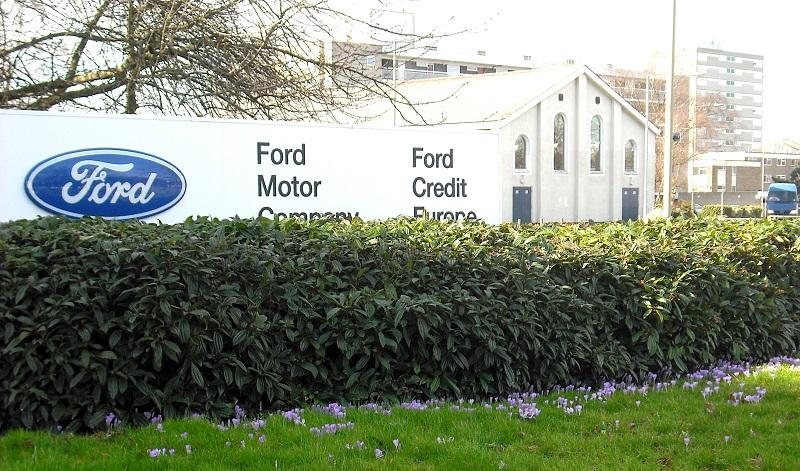 Focus on the Crocus on the brand new Ford Focus -