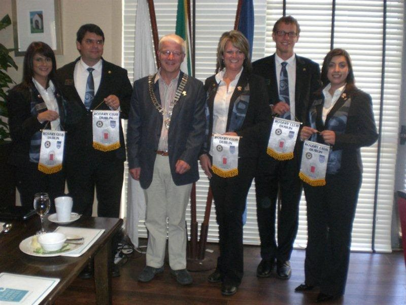 Group Study Exchange From USA / Canada to Dublin Rotary Club -