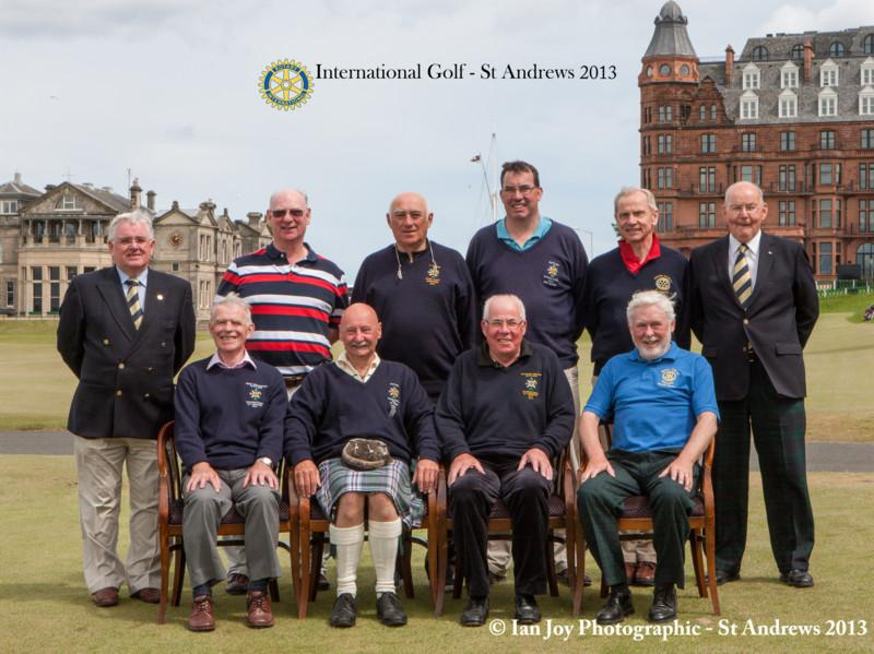 Club Photo Gallery pre July 2015 - Member Bruce Currie at St Andrews Rotary