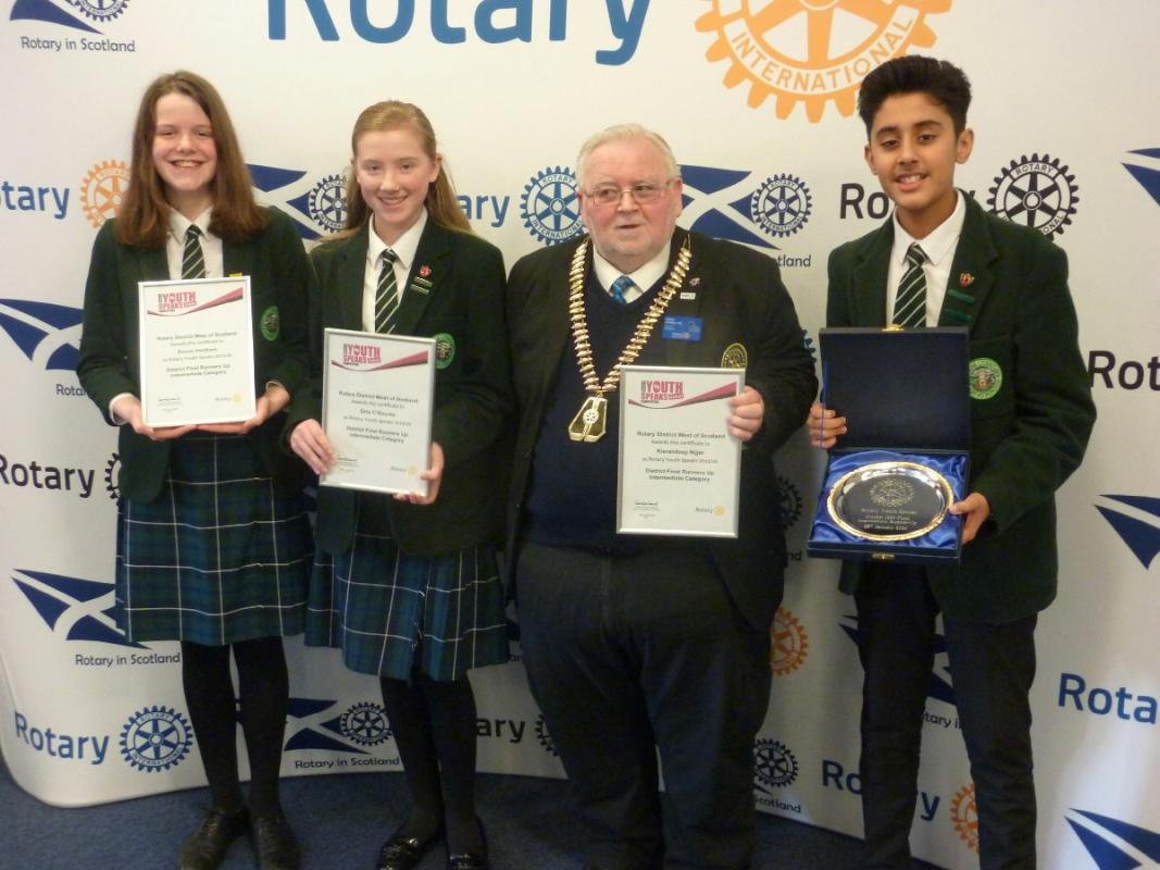 Youth Speaks District Final 2020  - St Columba's - Runners up