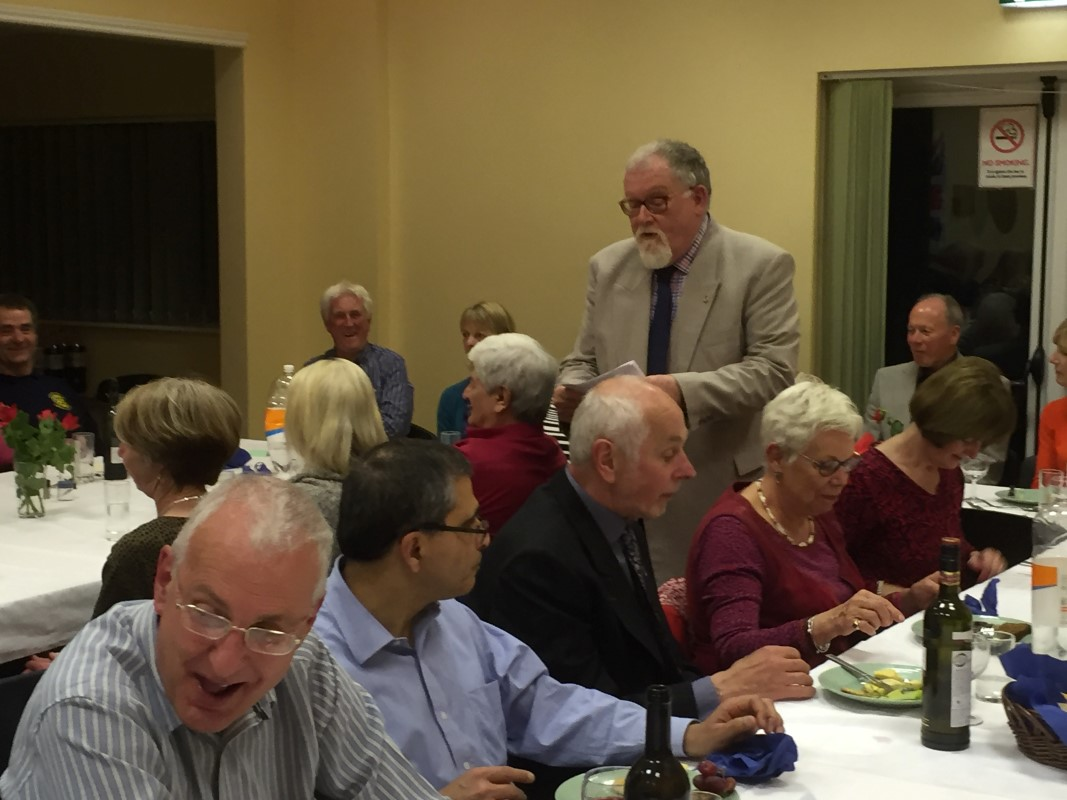 Photos From 2016 / 2017 Rotary Year - St Georges Meal Coleby