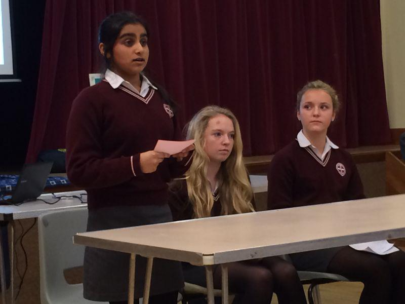 Youth Speaks 2014 - St Helen's Intermediate 1-3