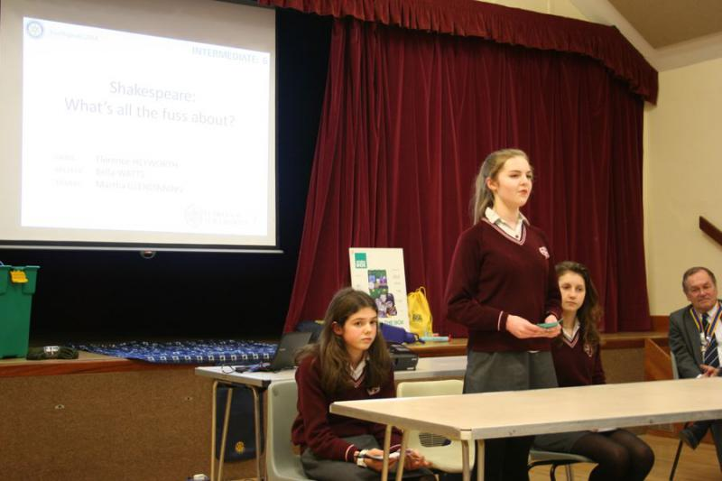 Youth Speaks 2014 - St Helen's Intermediate 2-4