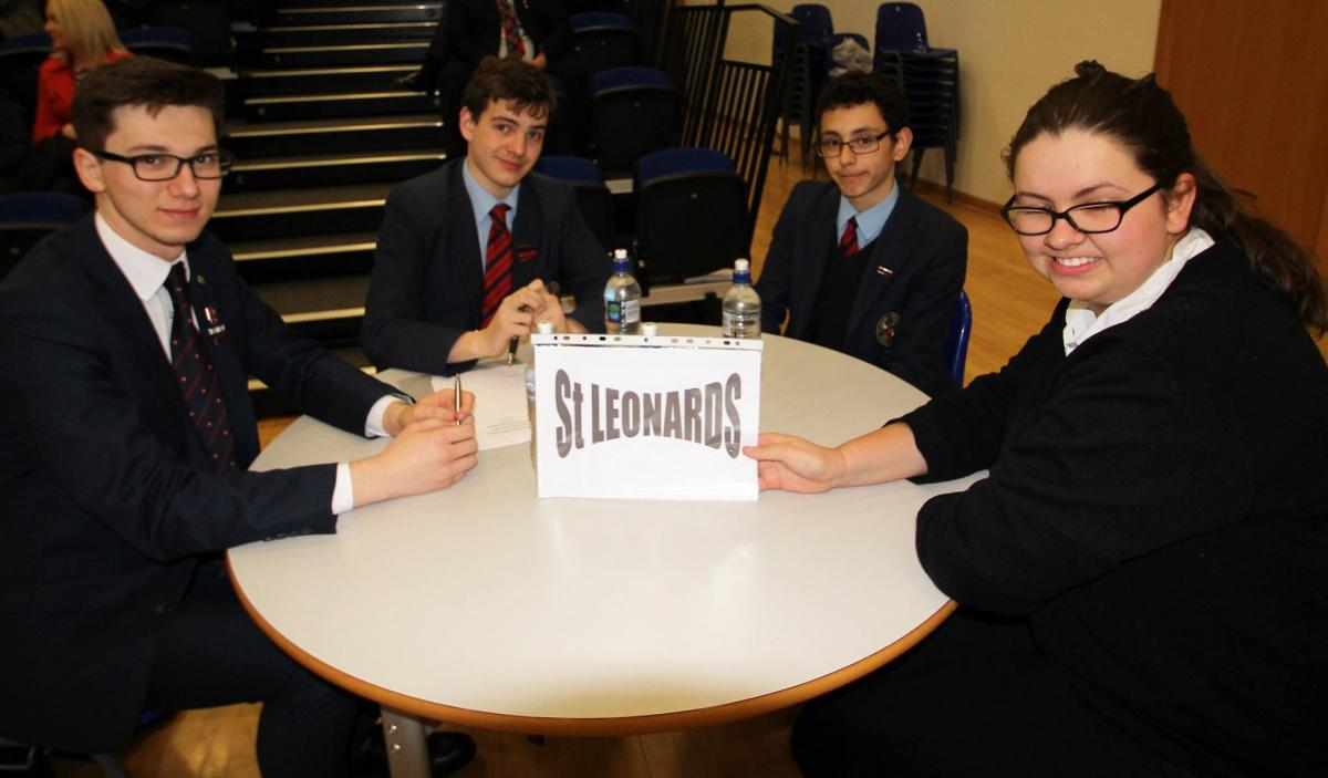 Top of the Form 2017 - St Leonards