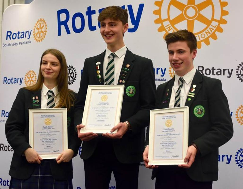 YouthSpeaks National Final 2018 - Senior Winners - St Columba's