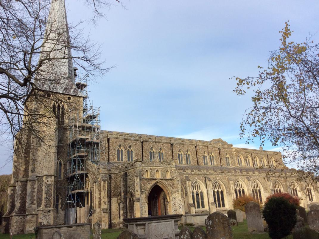 Hadleigh pictures - St Mary's Church