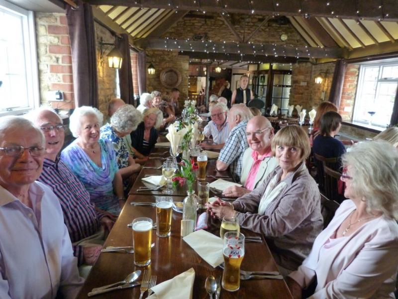 President's Invitation lunch 2015 - Stags Head 1