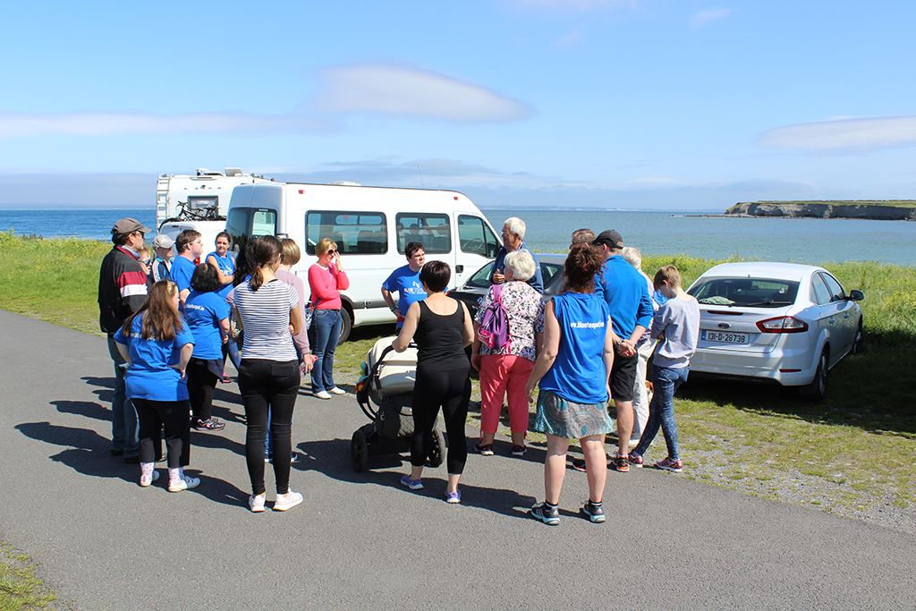 Blue Teapot Theatre Company - Start of the Burren Flaggy Shore Walk
