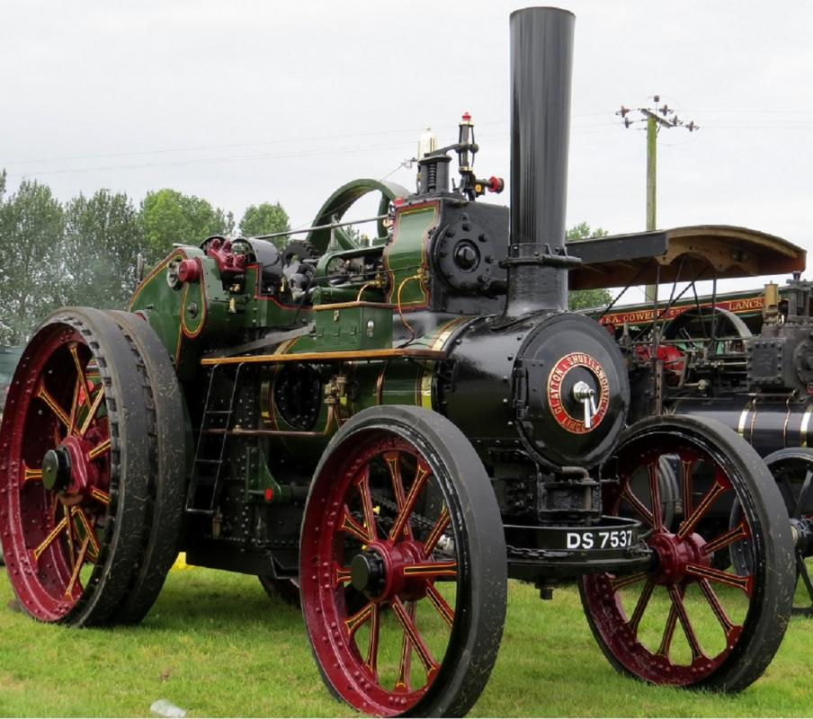 Leisure Lakes Steam and Vintage Vehicle Rally 2016 - Clayton & Shuttleworth