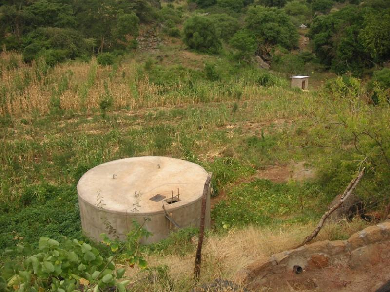 Our work providing clean water  - Storage Tank