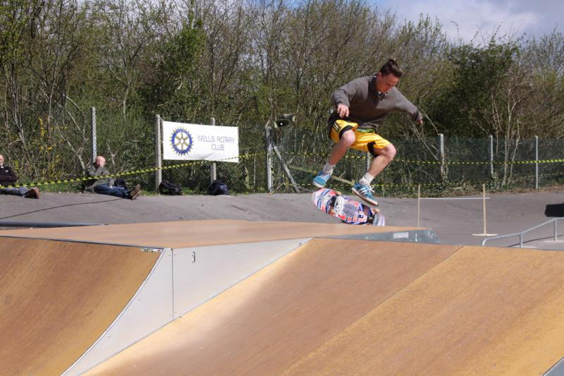 Wells Skate Board Park Re-Opening Ceremony - Style-&-Grace
