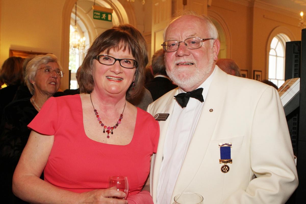 Cheltenham North Charter Anniversary Dinner 26th April 2012 - Sue and Bernie Campbell
