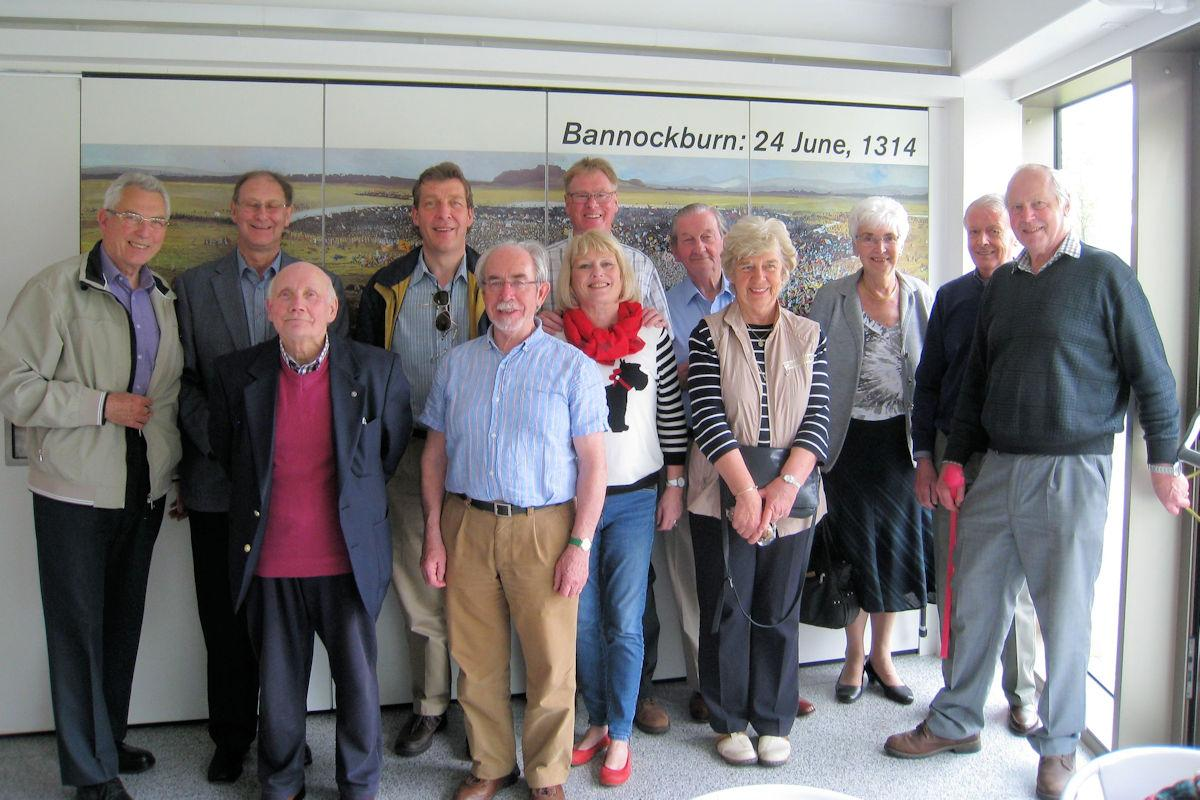 Club Fellowship - Our visit to the Battle of Bannockburn Centre