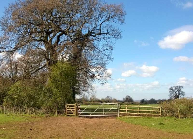 Club Walk from the World's End, Ecton - and yet another fine horse rider's gate