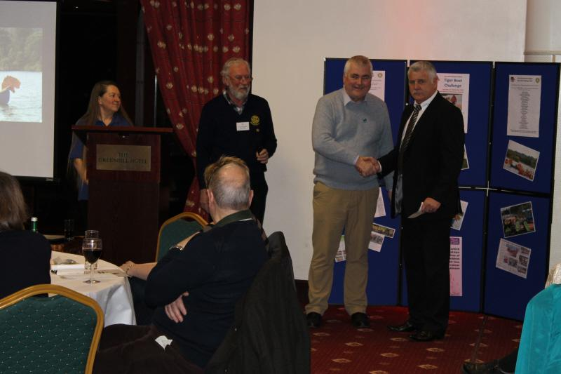 Tiger Boat Race 2012 Cheque Presentations -