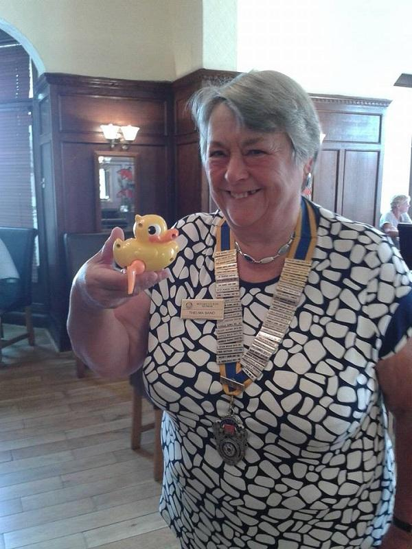 ROTARY YEAR 2014-2015 - TC and Duck