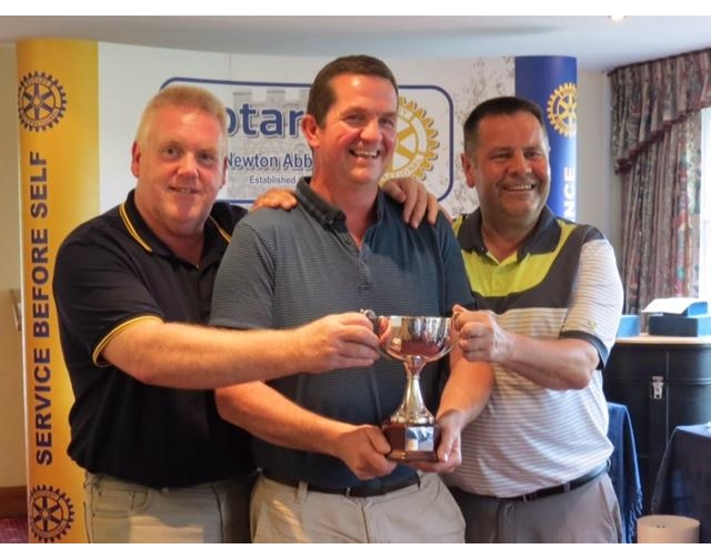 Rotary Club of Newton Abbot Golf Day - Stover - Team from Actavis
