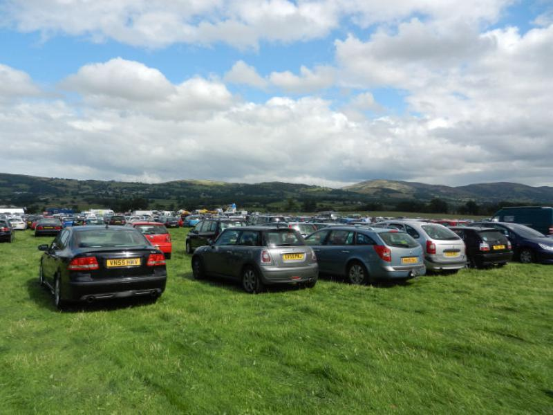 St Asaph country Fayre 2013 - THE CROWDS COME