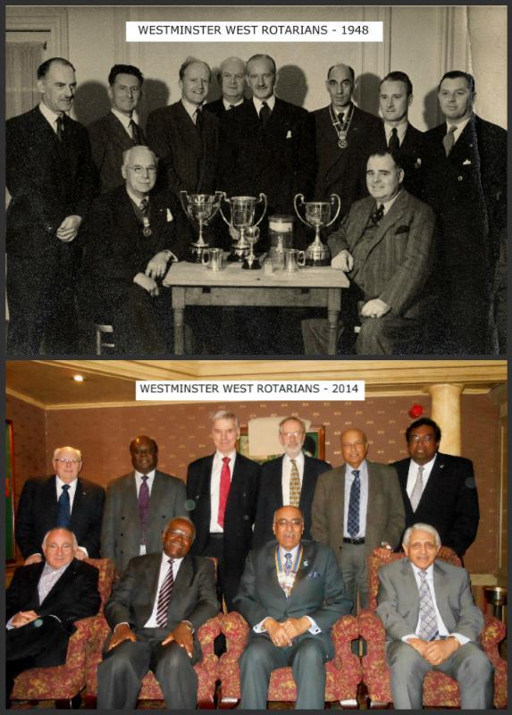 THE ROTARY CLUB OF WESTMINSTER WEST -