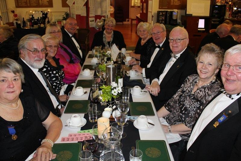 Rotary Club of Dunbar President's Night  -