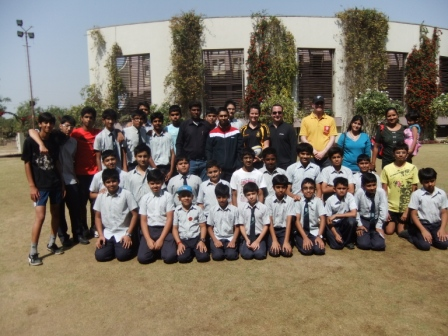 Ben's GSE visit to India - Teaching rugby in Ahmedabad
