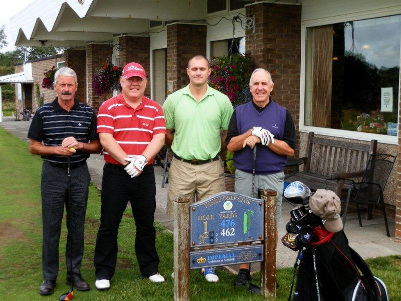 Charity Golf Day 2013 - Team 1 CAN Offshore Ltd
