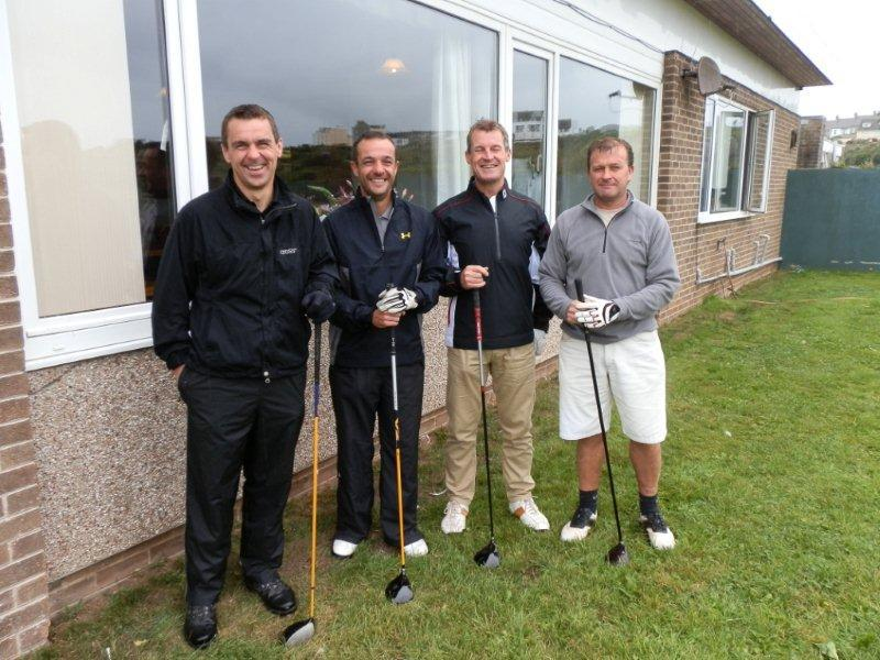 Charity Golf Day 2013 - Team 20 W & MJ Rossitter and sons (Funeral Directors)