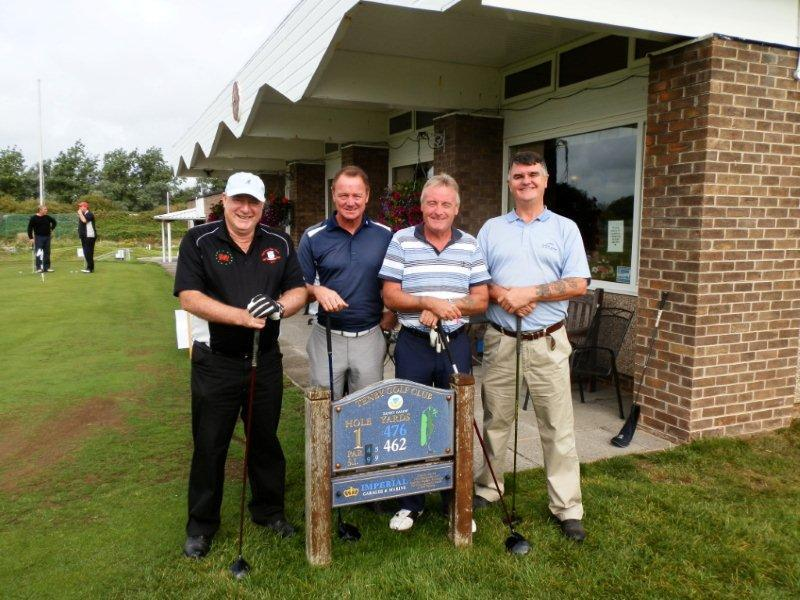 Charity Golf Day 2013 - Team 3 Wedges (Welsh Entertainers)