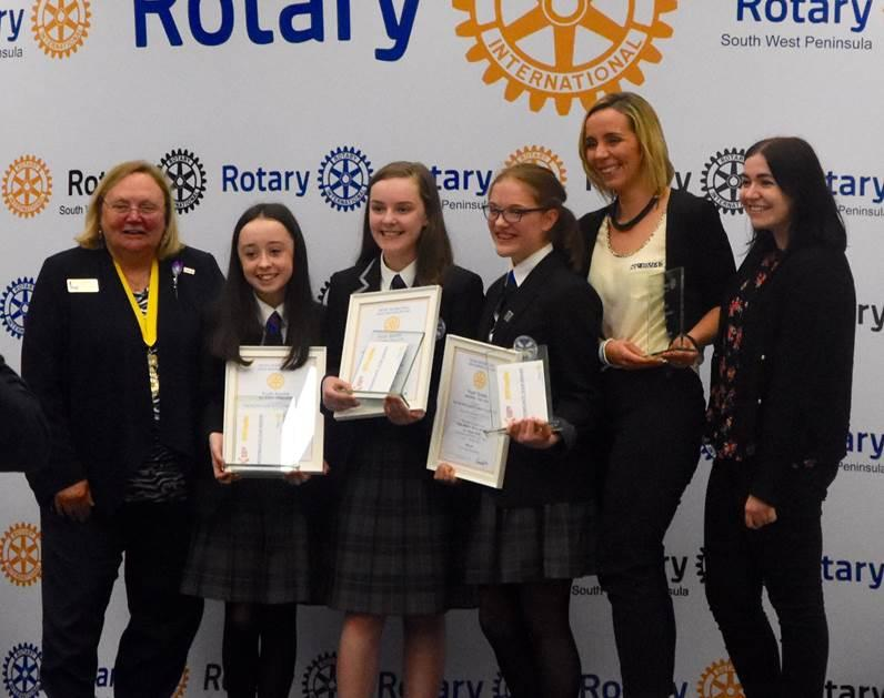 YouthSpeaks National Final 2018 - Intermediate Winners - St Andrew's & St Bride's