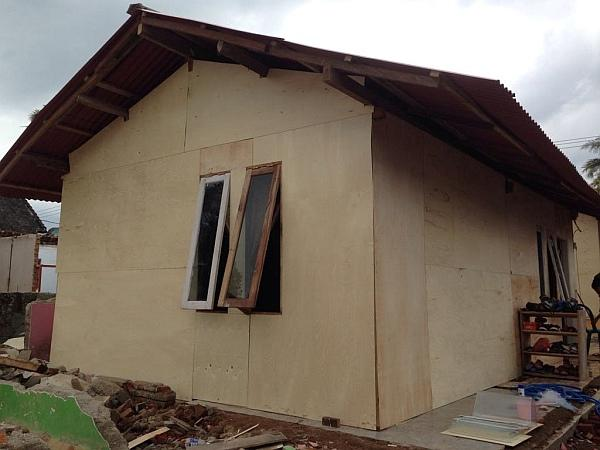 Lombok Earthquake Appeal - Shelter Exterior