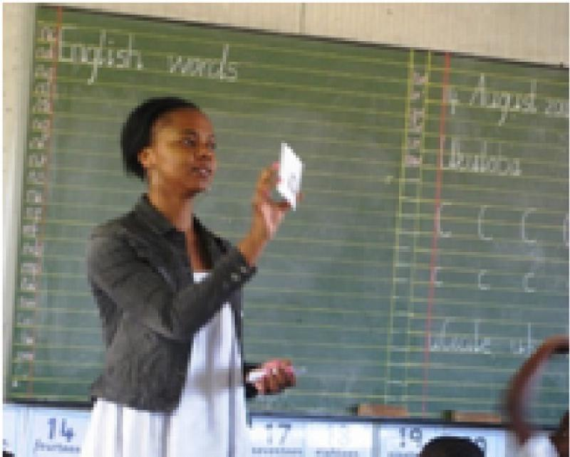 Our Work in South Africa - Term 3 -Reinforcing sounds v1