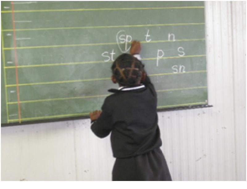 Our Work in South Africa - Test Phonics 2