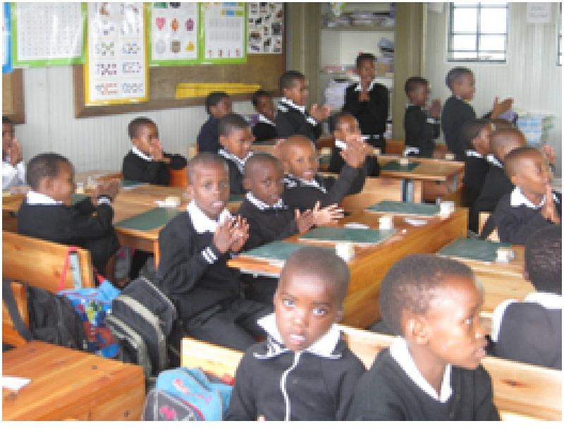 Our Work in South Africa - Test Phonics 7