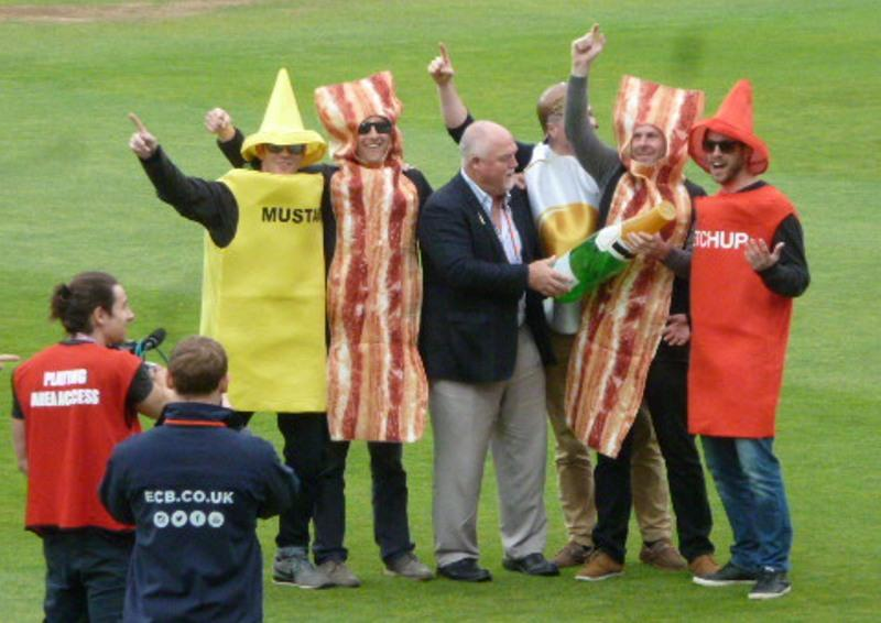 The best and worst of cricket - Best fancy dress: Gatting and condiments