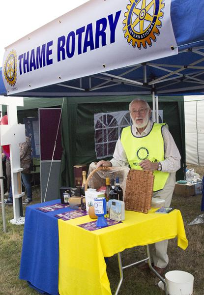 Rotary & ShelterBox at Thame Show - Rotary Raffle. Photo: Ross Dike