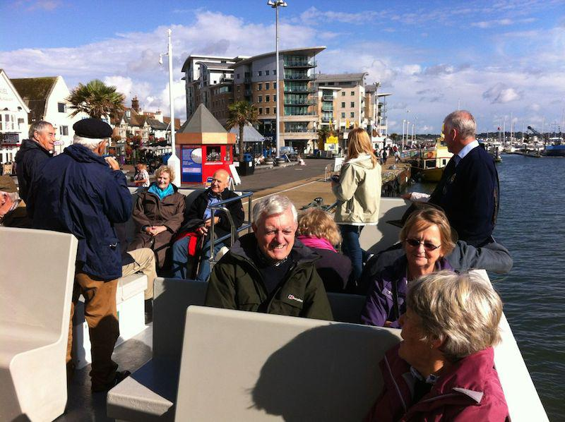 Presidents Weekend at RNLI Poole 3 - 5 October - The sun is out - but where's Jenny