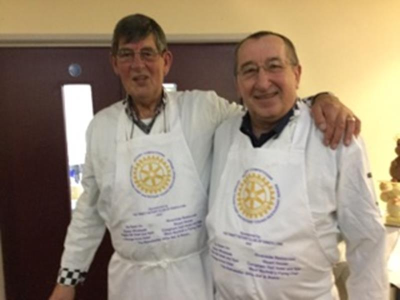Rotary Young Chef - Colin Rushmore and Les Philp