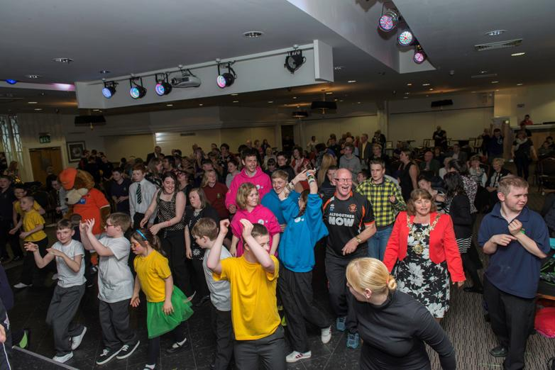 SPECIAL SCHOOLS' MUSIC FESTIVAL 2014 - The disco was the greatest.