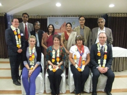 Ben's GSE visit to India - The team with Rotarian Friends in Jodhpur