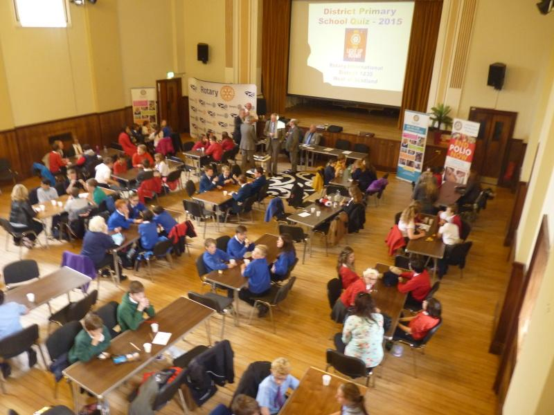 Community and Vocational Service - District Final Primary School Quiz