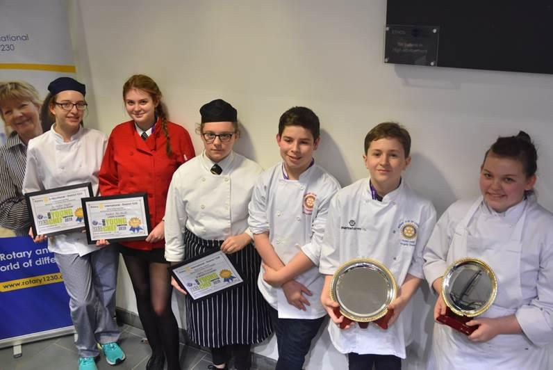 Young Chef District 1230 Final 2018 - The Competitors
