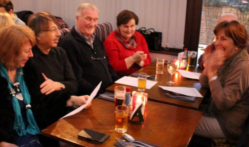 Club Social Events - even more Colchester Centurions and guests having drinks before dinner