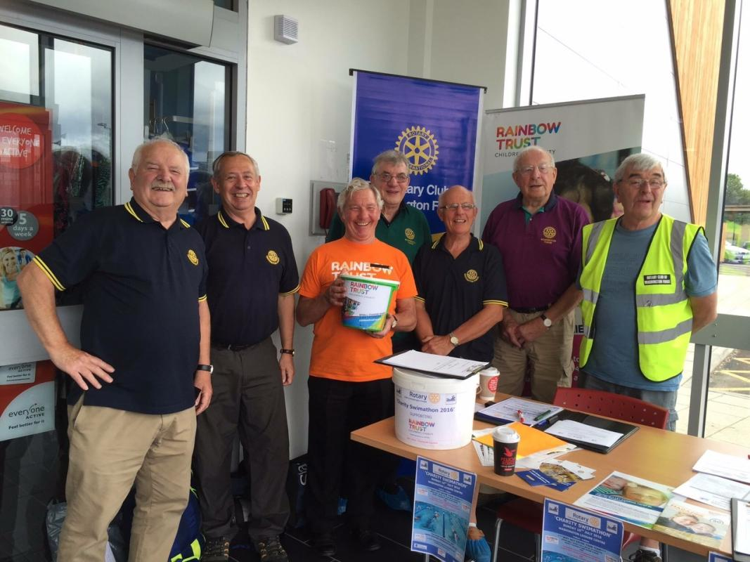 Charity Swimathon 2016 - Some of the planning and support team