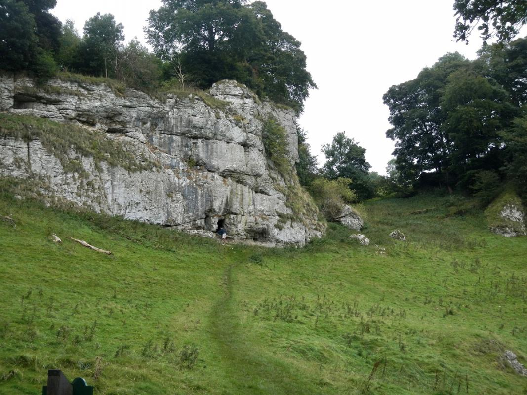 Derbyshire 2016 - Where we joined Wolfscotedale -