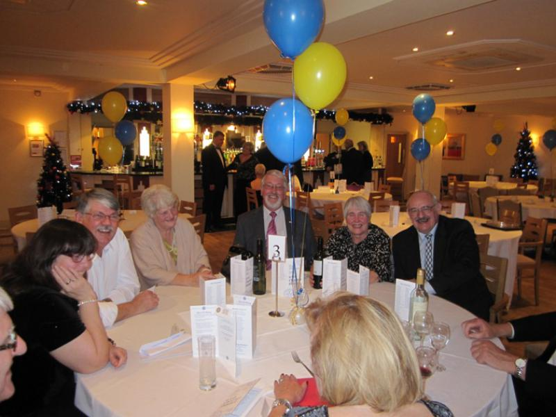 BLACKPOOL SOUTH ROTARY CLUB 2013  CHARTER DINNER.  - There was much laughter on the night.