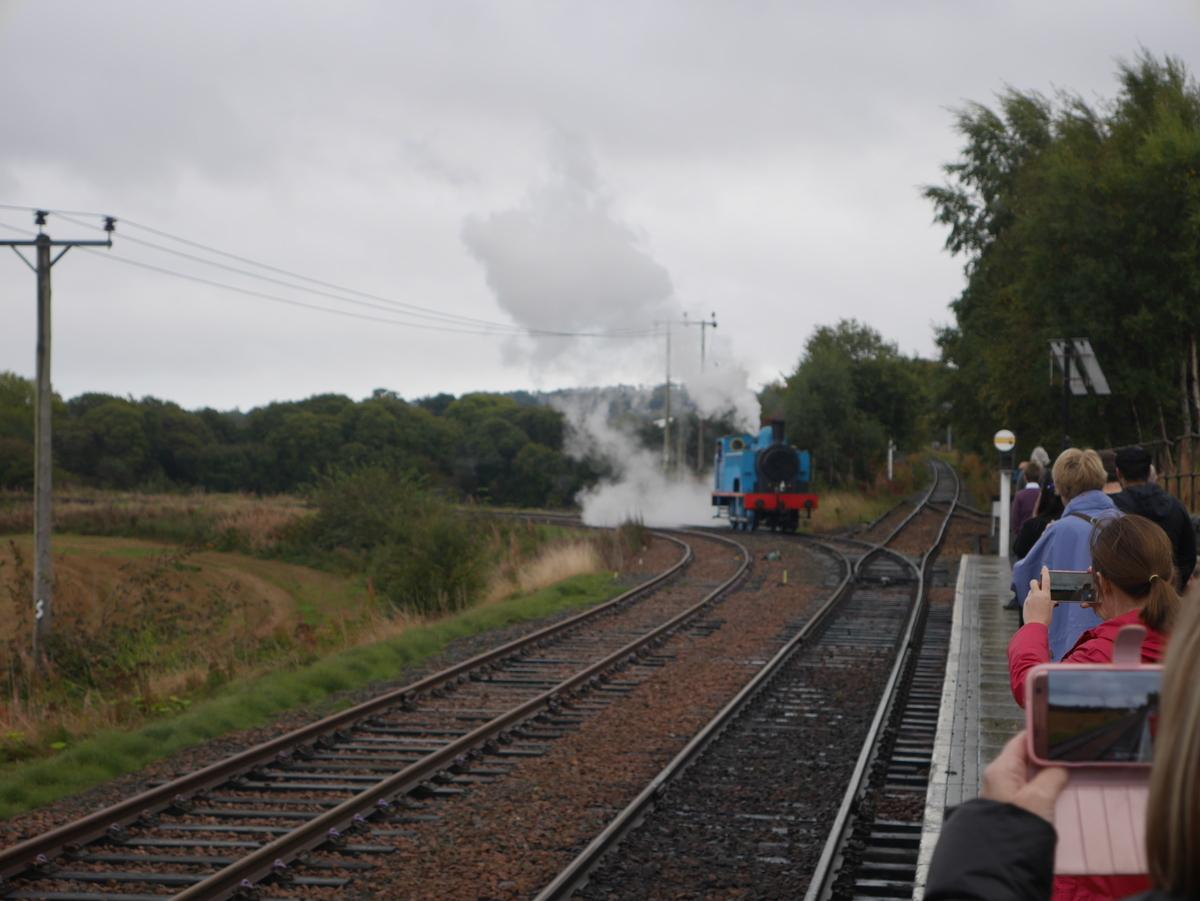 Afternoon tea on the Boness and Kinneil Railway - Thomas(1)