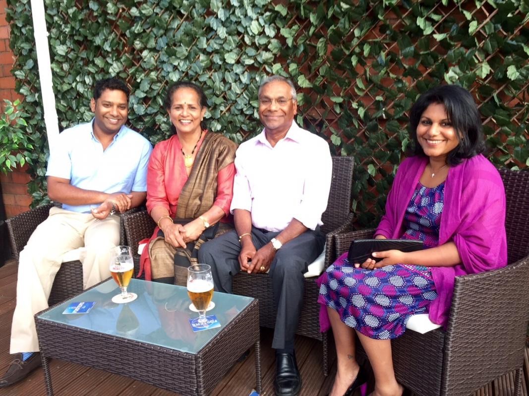 A Night with President Mathew & Family -